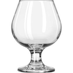 Libbey Embassy Brandy Glasses, 9.25 oz, Clear