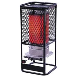 HeatStar Portable Radiant Heater, 125,000 Btu/h, 17 h