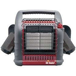HeatStar Portable BIG Buddy Heaters, 4,000/9,000/18,000 Btu/h