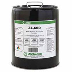 Magnaflux Zyglo ZL-60D Water Washable Fluorescent Penetrants, Liquid, Pail, 5 gal