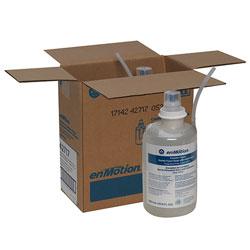 enMotion Counter Mount Soap Dispenser Refills, Dye and Fragrance Free, 1,800 mL/Bottle, 2 Bottles/Case