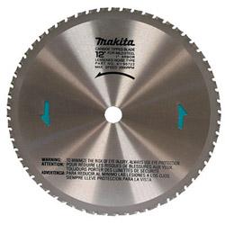 "Makita 12"" x 60 Tooth Dry Cut Metal Blade"