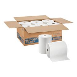 enMotion 10 in Paper Towel Roll, White, 89460, 800 Feet Per Roll, 6 Rolls Per Case