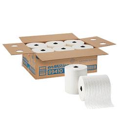 enMotion 8 in Premium Paper Towel Roll, White, 89410, 425 Feet Per Roll, 6 Rolls Per Case