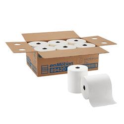 enMotion 8 in Paper Towel Roll, White, 89420, 700 Feet Per Roll, 6 Rolls Per Case