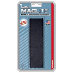 Maglite® Black Nylon Full Flap Holster for Mini-mag
