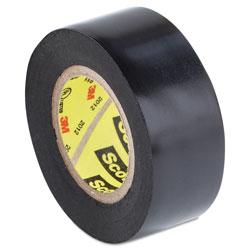 Scotch™ Scotch 33+ Super Vinyl Electrical Tape, 0.75 in x 20 ft, Black