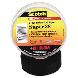 Scotch™ Scotch 88 Super Vinyl Electrical Tape, 1.5 in x 44 ft, Black
