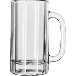 Libbey Paneled Beer Mug, 12 Oz