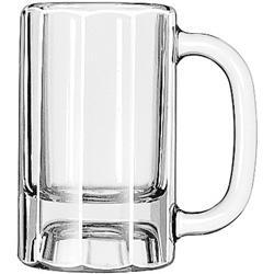 Libbey Paneled Beer Mug, 10 Oz