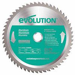 Evolution TCT Metal-Cutting Blades, 9 in, 1 in Arbor, 3,000 rpm, 48 Teeth