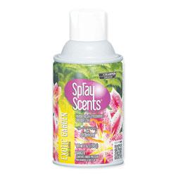 Champion Sprayon® Sprayscents Metered Air Fresheners, Exotic Garden Scent, 7 oz, 12/Carton