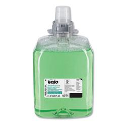 Gojo Green Certified Foam Hair and Body Wash, Cucumber Melon, 2000 mL Refill, 2/Carton