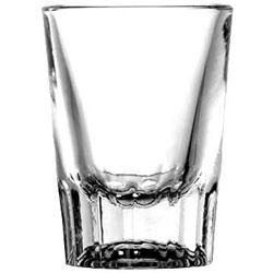 Anchor Hocking Whiskey Shot Glass, 2 oz, Clear, 48/Carton