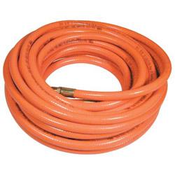 "Plews 3/8"" x 50' Day Glo Orng PVC Air Hose 300 PSI"