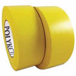 Berry Plastics 833 Multi-Purpose PE Film Tapes, 72 mm X 55 m, 7.5 mil, White
