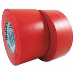 Berry Plastics 833 Multi-Purpose PE Film Tapes, 48 mm X 55 m, 7.5 mil, Red