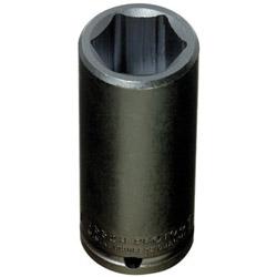 Proto Torqueplus Deep Impact Socket, 1/2 in Drive, 1-1/8 in Opening, 6-Point