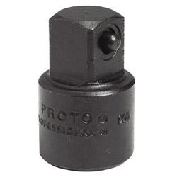 Proto Impact Socket Adapter, 3/8 in Female, 1/2 in Male