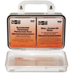 Pac-Kit Mobile Bloodborne Pathogens Kit Biohazard F