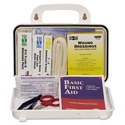 Pac-Kit ANSI Plus #10 Weatherproof First Aid Kit, 76-Pieces, Plastic Case