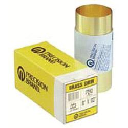 "Precision Brand 17s5 .005 Brass Shimstock 6"" x 100"""