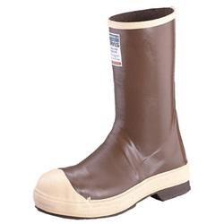 Servus Neoprene Steel Toe Boots, 9, Copper, Tan