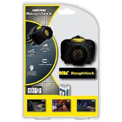 Rayovac Roughneck 3aaa Led Headlight W/ Cloth Head Stra