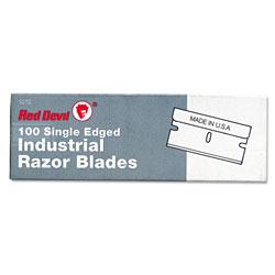 Red Devil Single Edge Scraper Razor Blades, 100 Box