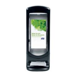 Tork Xpressnap Stand Napkin Dispenser, 9 1/4W x 9 1/4D x 24 1/2H, Black