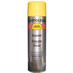 Rust-Oleum High Performance V2100 System Enamel Paint, 15 oz, Safety Yellow
