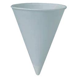 Solo Paper Cone Water Cups, 4 1/4 oz , White