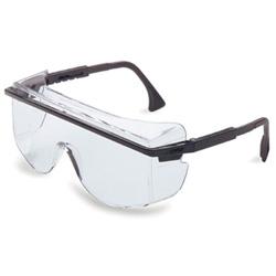 Uvex Safety Astro OTG 3001 Safety Spectacles, Black Frame