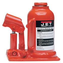 "Jet 12-1/2""t Cap. Hydraulic Jack Ind. Heavy"