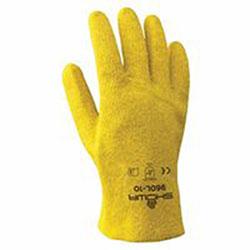 Showa Best KPG Work Gloves, Medium, Yellow