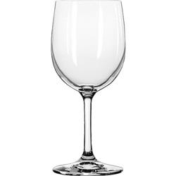 Libbey Bristol Valley Wine Glasses, White Wine, 13 oz, Clear, 24/Carton