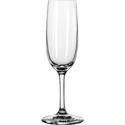 Libbey 8595SR 6 Ounce Bristol Valley Sheer Rim Flute Glass