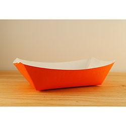 SQP Food Tray #300 Solid Orange