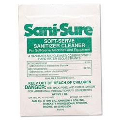 Diversey Sani Sure Soft Serve Sanitizer & Cleaner, Powder, 1 oz. Packet