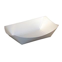SQP Food Tray #50 Plain White