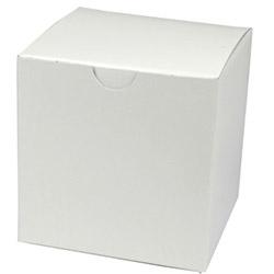 BOXit White Gift Box, 4 inx 4 in x 4 in