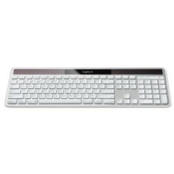 Logitech Wireless Solar Keyboard for Mac, Full Size, Silver