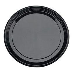 Sabert Plastic Platter, 18 in, Black