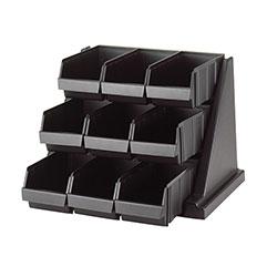 Cambro Organizer Versa Pack 9 Bin Black