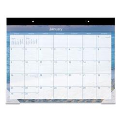 At-A-Glance Tropical Escape Desk Pad, 22 x 17, 2021