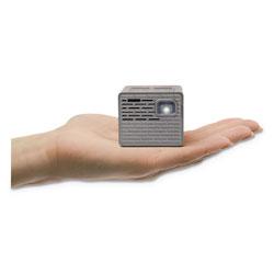 AAXA Technologies P2-B Mini Pico Projector, 130 Lumens, 854 x 480 Pixels