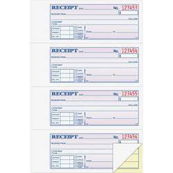 """Adam Money/Rent Receipt Book, Carbonless, 2-Part, 7-5/8"""" x 11"""", WE"""