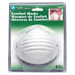 Acme Comfort Disposable Dust Masks, 5/Pack