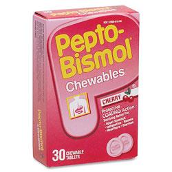 Pepto Bismol™ Tablets, 30 Tablets per Box