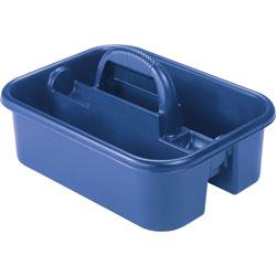 "Akro-Mills Blue Tote Caddy, 13 3/4"" x 18 1/4"" x 8 3/4"""